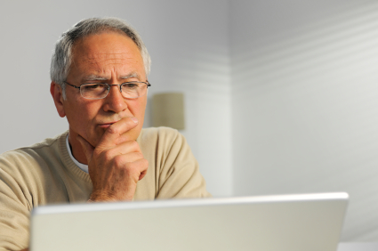 Man thinking about becoming a web host