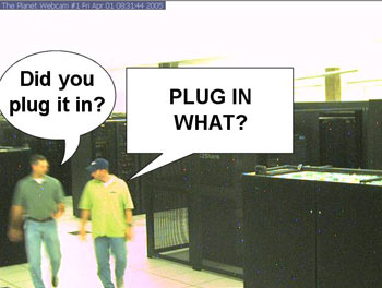 PLUG WHAT IN!